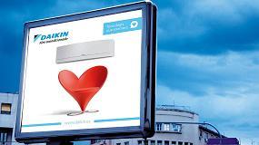 Foto de Daikin lanza una campaña de publicidad exterior y digital bajo el eslogan 'Tecnología que enamora'