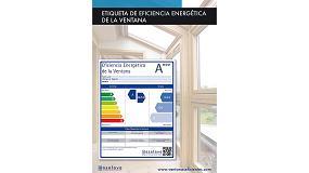 Foto de Etiqueta de eficiencia energética de ventanas