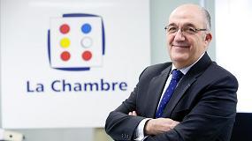 Fotografia de Entrevista a Domingo San Felipe, presidente de la C�mara Franco-Espa�ola de Comercio e Industria