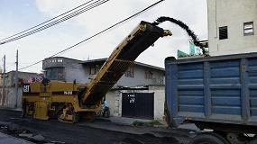 Foto de La gestión del material bituminoso procedente del fresado de pavimentos envejecidos y la economía circular