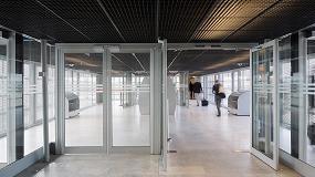 Picture of El aeropuerto de Tolouse-Blagnac opta por la fiabilidad y la est�tica de las puertas K190 de Kawneer
