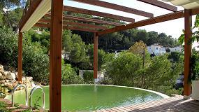 Picture of Primera piscina natural depurada por un jard�n vertical