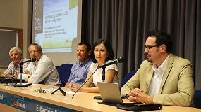 Foto de Desinfecci�n y reciclaje de agua en invernadero: a debate en Las Palmerillas