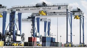 Fotografia de Nuevo est�ndar en la log�stica portuaria