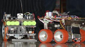 Fotografia de Nuevo sistema basado en im�genes para calcular el movimiento de un robot