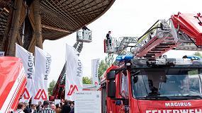Fotografia de Magirus, marca de CNH Industrial, desvela en primicia mundial su tecnolog�a contraincendios en Interschutz 2015