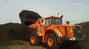 Foto de Reciclar con una cargadora Doosan DL350-3
