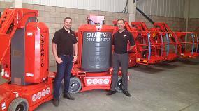 Foto de Quick Reach expande su flota de maquinaria con plataformas Haulotte