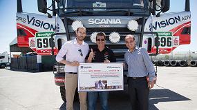 Foto de Scania Ibérica colabora con el proyecto humanitario de En Ruta Solidaria