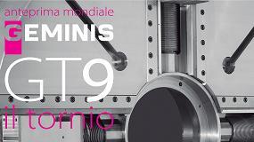 Foto de Goratu presenta el nuevo torno Geminis GT9 en la EMO de Milán 2015