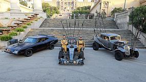 Foto de Roland DG viste un F1 para un futuro posapocalíptico