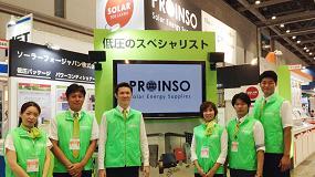 Picture of Proinso participa en PV Japan 2015