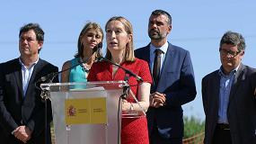 Foto de Pastor asiste al inicio de las obras de la lanzadera ferroviaria al Aeropuerto de Barcelona-El Prat