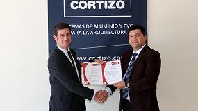 Foto de Cortizo recibe el certificado Ohsas 18001 en materia de seguridad y salud laboral