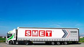 Foto de Iveco y Smet colaboran para conseguir una logística de bajo impacto medioambiental