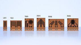 Foto de Bandas extensom�tricas para materiales compuestos de fibra