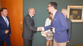 Foto de El consejero de Desarrollo Económico y el alcalde de Murcia llegan al congreso nacional de instaladores de la mano de Fremm y Conaif