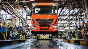 Foto de Iveco confirma su liderazgo del mercado español de vehículos industriales de más de 3,5 toneladas