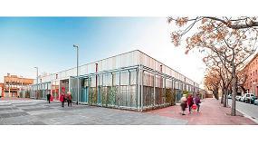 Fotografia de Presencia de Rockwool en el primer edificio de nueva construcci�n de Catalunya con certificado LEED Platinium