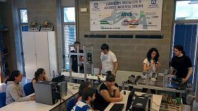 Foto de La ETSI de Bilbao inaugura un laboratorio pionero de sensorizaci�n industrial avanzada