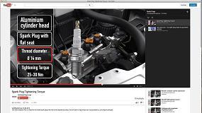 Picture of Nuevos videos informativos de NGK Spark Plug Europa en l�nea