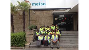 Foto de Miembros de la Fundación Prodis visitan Metso Ibérica