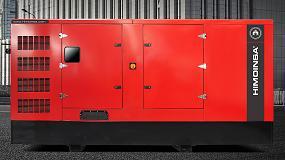 Foto de Himoinsa presenta nuevos grupos electrógenos con motor Scania