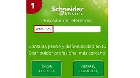 Picture of Schneider Electric lanza una aplicaci�n para localizar puntos de venta de material el�ctrico