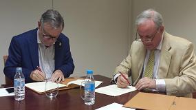 Fotografia de La Fundaci�n Laboral de la Construcci�n y el CSCAE firman un convenio para potenciar la formaci�n integral de los profesionales de nivel universitario