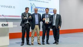 Foto de Michelin logra un nuevo reconocimiento con el premio al 'Mejor Proveedor' por CNH Industrial