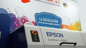 Foto de La prensa digital de etiquetas Epson SurePress L-4033 se gana el reconocimiento europeo