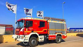Foto de El Consorcio de Bomberos de Alicante adquiere cuatro vehículos especiales Scania