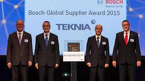 Foto de Teknia Group, �nica espa�ola entre los galardonados con el 'Bosch Global Supplier Award'