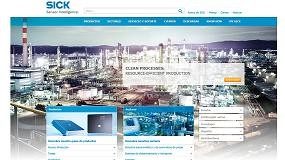Fotografia de Sick estrena su nueva p�gina web con portal de compra integrado