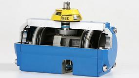 Picture of Actuadores neum�ticos preparados para resistir ambientes �cidos y corrosivos