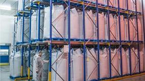 Picture of S&K Swieringa limpia y env�a el palet para grandes cargas Endur i9 a FrieslandCampina