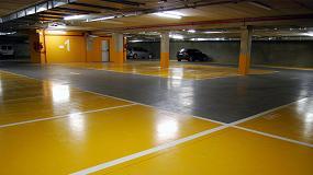 Foto de Lotum, especialista en pavimentos continuos y señalización para parkings y garajes