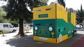 Fotografia de Yor dise�a el parque infantil de la antigua estaci�n de autobuses de Vitoria-Gasteiz