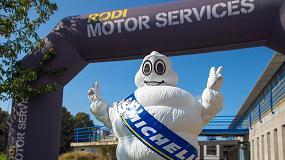 Foto de Michelin acompaña a Rodi Motor Services en su 25 aniversario