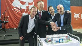 Foto de Doosan inaugura su nuevo Centro de innovación en el Campus de Dobris