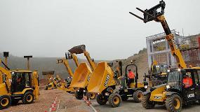 Foto de JCB presenta sus últimas novedades en maquinaria de construcción y obras públicas