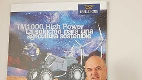 Fotografia de Entrevista a Ram�n Mart�nez, director general de Trelleborg Wheel Systems Espa�a