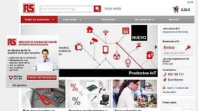 Foto de RS Components renueva su página web para mejorar la experiencia online del cliente