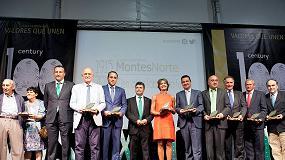Foto de Grupo Montes Norte cumple 100 años (1915-2015) y premia a Pieralisi