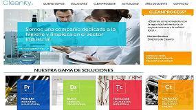 Foto de Cleanity presenta su nueva página web corporativa para acercarse más a los clientes