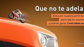Foto de Demostrando que se pilota Kubota se puede asistir al Gran Premio MotoGP de Aragón