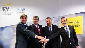 Foto de FIAB y EY firman un acuerdo estratégico para promocionar la industria alimentaria y el análisis cuantitativo del sector