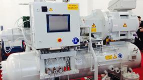 Foto de Motores que aumentan la eficiencia de compresores de gas en las industrias alimentaria y farmacéutica
