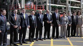 Foto de SK y Repsol inauguran la planta de bases lubricantes de Ilboc en Cartagena