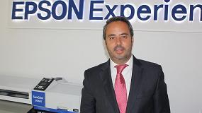 Foto de Entrevista a Óscar Visuña, director de la división de Impresión Industrial y Comercial de Epson Ibérica